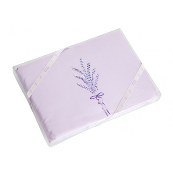 Europa Lavender Silk Sleep Pillow Hand Painted