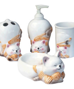 cat bath set