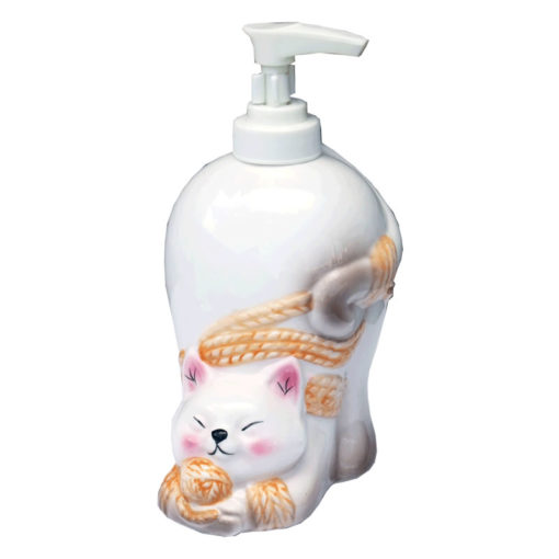 cat lotion bottle