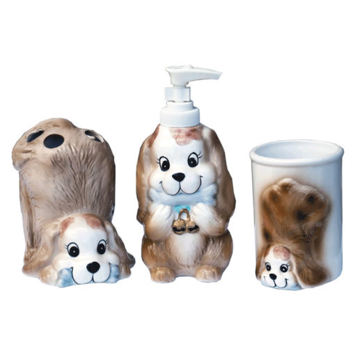 dog bath set 3pcs
