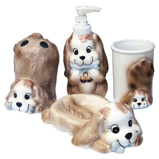 dog bath set