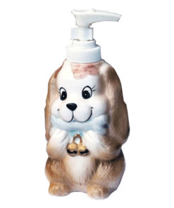 dog lotion bottle