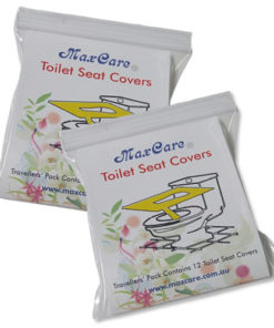 maxcare toilet seat covers 2 pck