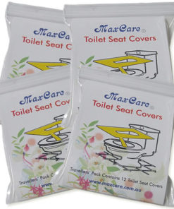 maxcare toilet seat covers 4 pck