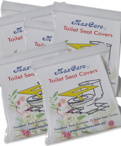 maxcare toilet seat covers 6 pck