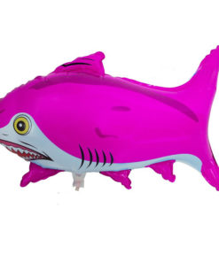foil balloon red shark