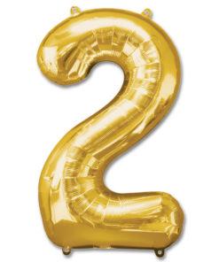 jumbo foil balloon gold letter 2