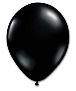 latex ballon black