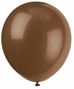latex ballon brown