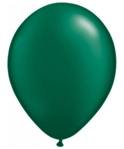 latex ballon dark green