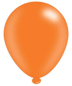 latex ballon orange
