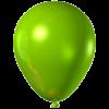 metallic balloons green