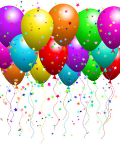party balloon 150 pack