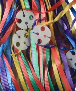 pre tied ribbon clips multiple color