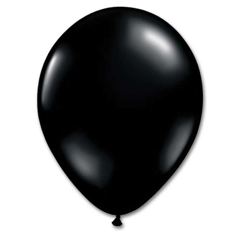 latex ballon black